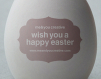 me&you creative wish you a happy easter