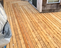 New Decking Is Art!!