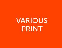 Various Print