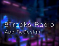 8Tracks Radio ReDesign