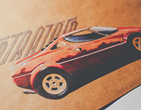 Lancia Stratos in Marker