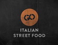 Go Italian Street Food - Brand Identity