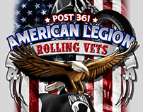 American Legion Rolling Vets Bike Week 2013