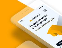 Trioteca Redesign - UX/UI Case Study