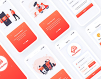 Pizza Builder Mobile App UI