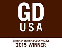 2015 GDUSA American Graphic Design Awards