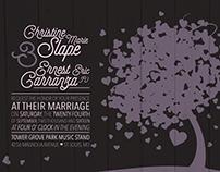 CHRISTINE & ERNEST WEDDING