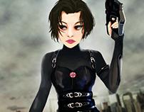 Resident Evil Movie Art Poster