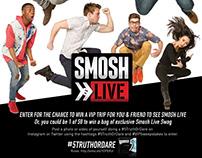 Smosh Live 5 Gum Poster