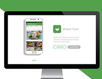 Website Landing Page - Wiskul Tasik