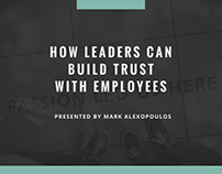 How Leaders Can Build Trust With Employees
