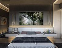 Modern Villa Bedroom