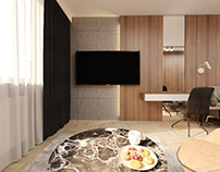 Shakhristan apartments -interior design