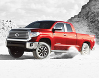 2014 Toyota Tundra Microsite + Email Campaign