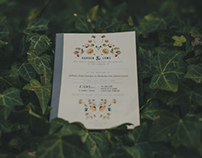 J&N Wedding Invites