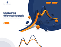 Smart Blood Analytics website