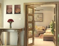 Mr. Kashif' residence interior