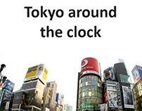 Tokyo Around the Clock - Photo-novel