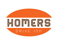 Homers Drive Inn - Brand Design