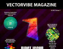 VectorVibe Magazine Cover