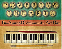 Poverty & The Arts - BiAnnual Community Art Day