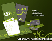 Urban Butter Identity Package