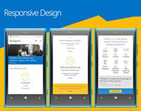 Microsoft BizSpark // Responsive Web Design