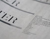 Newspaper Editorial Design