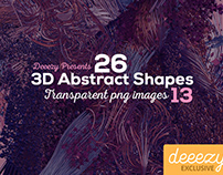FREE 3D Abstract Shapes 13