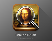 Broken Brush App icon