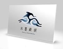 Tibet Ink cashmere blanket