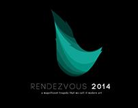 Logo Rendezvous 2014 yang nggak jadi.