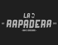 """Logo """"La Rapadera"""" nomás por mamón"""