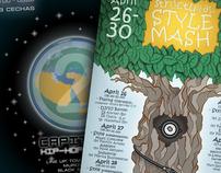 """""""2 Capitals"""" + """"SSM"""" posters"""