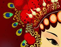 Beijing Opera headdress creation