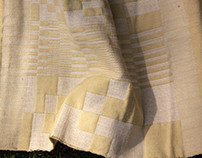Advance Fabric Structure_Double Cloth_Wool and Cotton