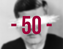 JFK Commemorative Exhibition Poster - 50 Years On