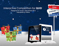 Interactive Web Competition for Quid 2012