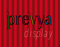 PREVYA Typeface