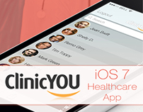 iOS 7 Healthcare App Design by Vinfotech