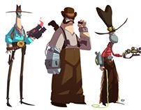 Bionic Cowboys
