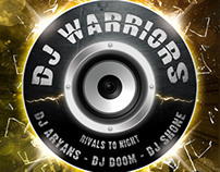 DJ Warriors Flyer