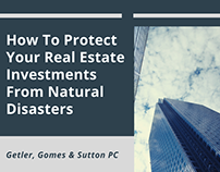 Protect Real Estate Investments From Natural Disasters