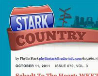 """Stark Country"" Email Newsletter Design"