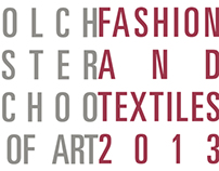 Fashion and Textiles Show Catalogue 2013