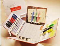 Kit Faber Castell para blogueiros