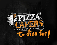 Pizza Capers: Brand Refresh
