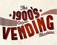 The 1900`s Vending Machine Coca - Cola