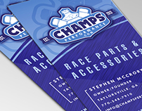 CHAMPS Performance Business Card Design