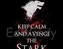 Keep calm and avenge the Stark
